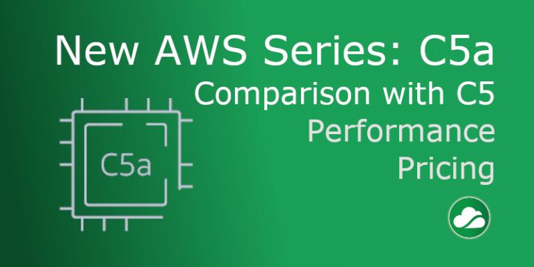 New AWS C5a series