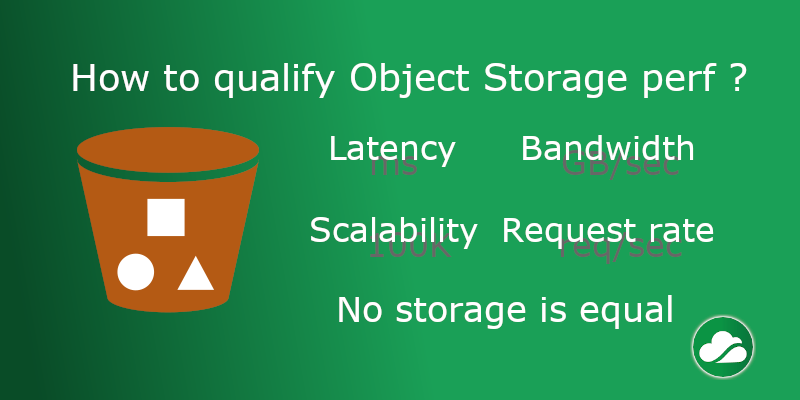 How to qualify Object Storage perf